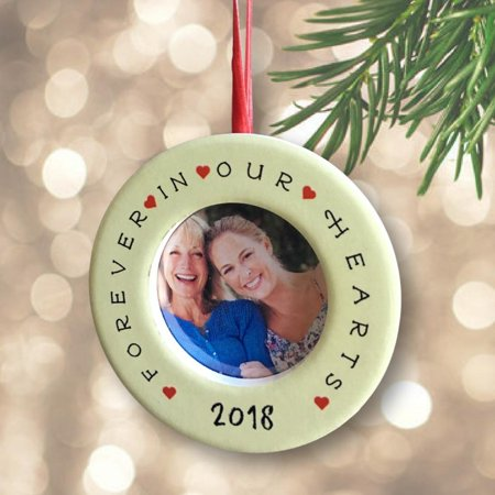 In Loving Memory Ornaments (In Loving Memory – Dated 2018 Christmas Ornament with Easel)