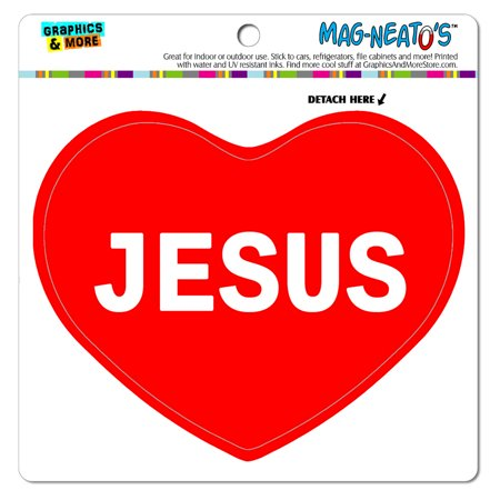 I Love Heart - Name - Jesus - MAG-NEATO