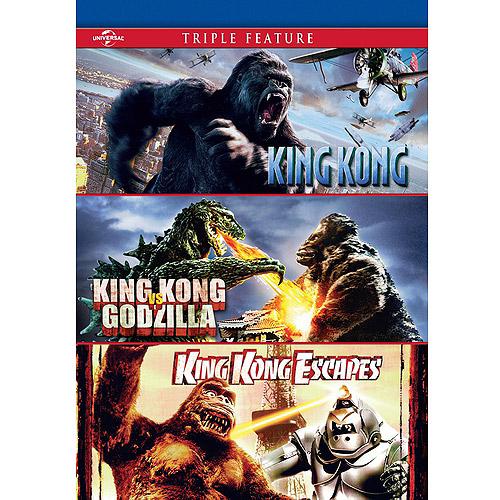 King Kong / King Kong Vs. Godzilla / King Kong Escapes (Widescreen)