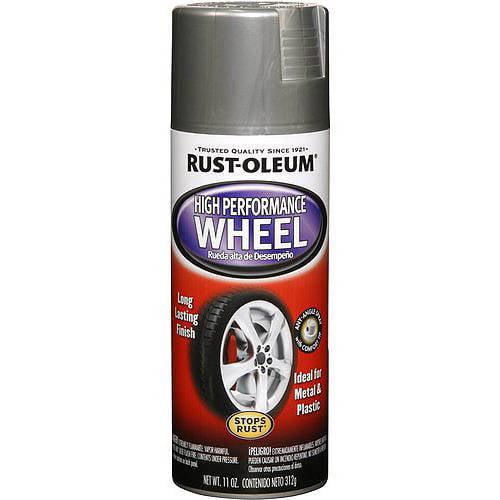 Rust-Oleum High Performance Wheel, Flat Black