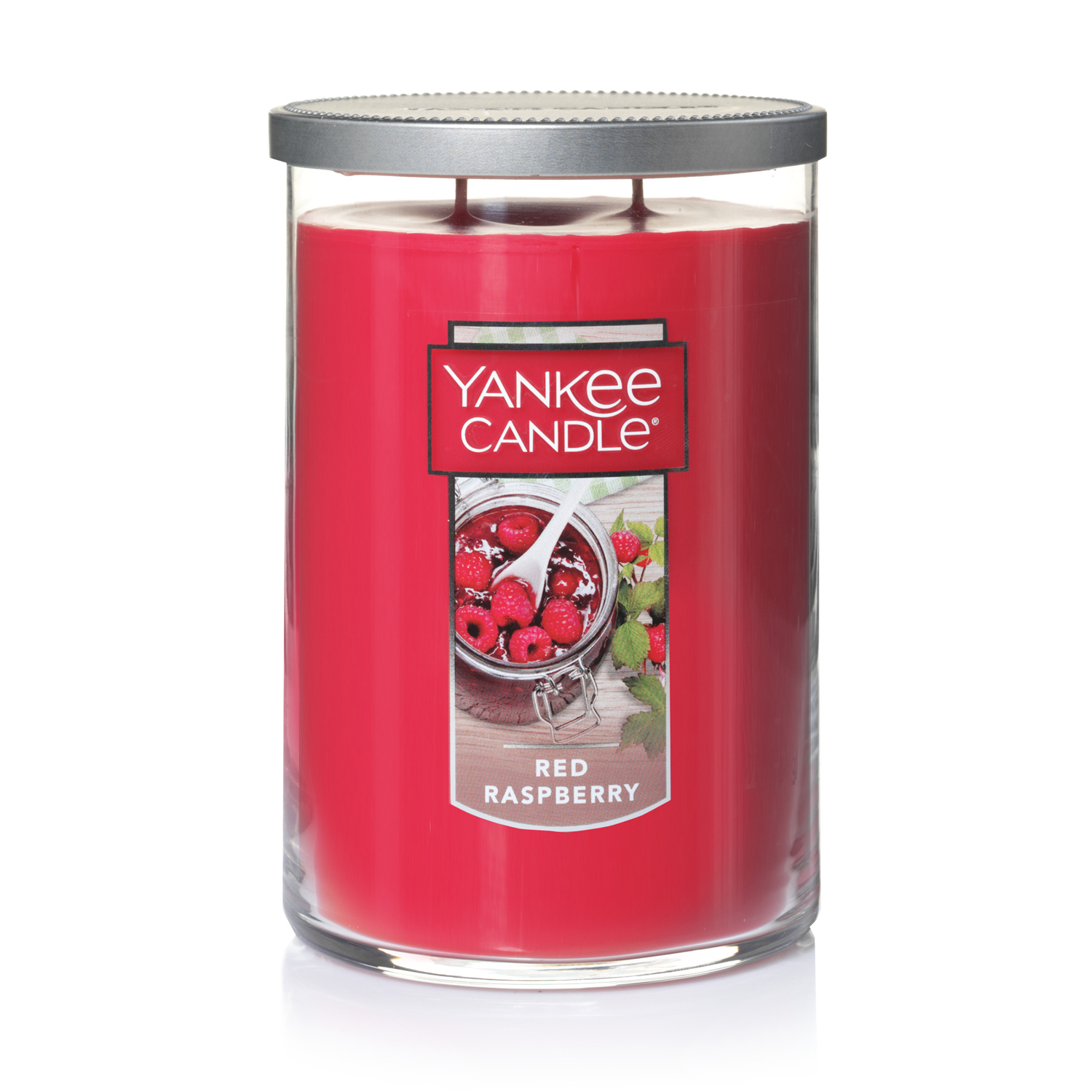 Yankee Candle Large 2-Wick Tumbler Candle, Red Raspberry