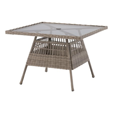 Better Homes & Gardens Belfair Square Outdoor Patio Coffee Table ()