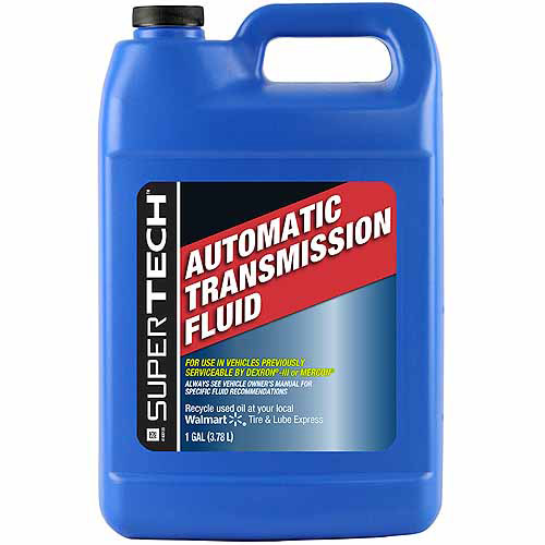 Automatic Transmission Fluid >> Super Tech Automatic Transmission Fluid 1 Gallon Walmart Com