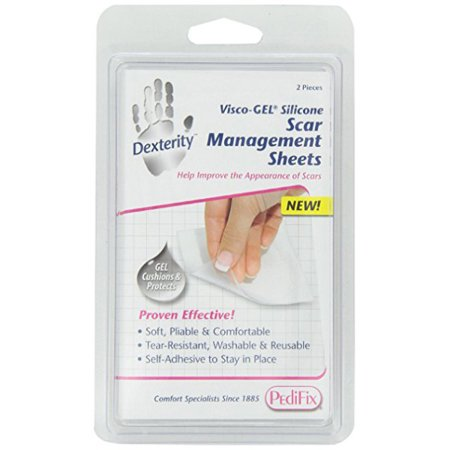 Adhesive Gel Sheet - PediFix Visco-GEL Silicone Scar Management Sheets