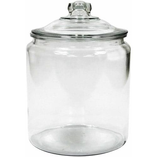 Anchor Hocking 2 gal Glass Heritage Jar
