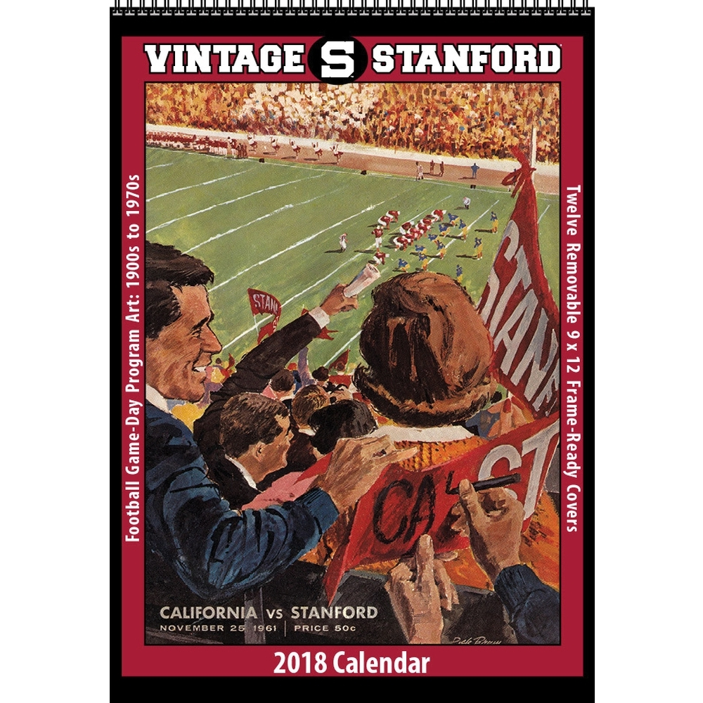 Stanford Vintage Football Wall Calendar,  Stanford Cardinal by Asgard Press