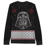 Star Wars Darth Vader Face Youth Black Ugly Christmas Sweater