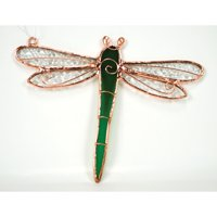 Gift Essentials Green Dragonfly Suncatcher