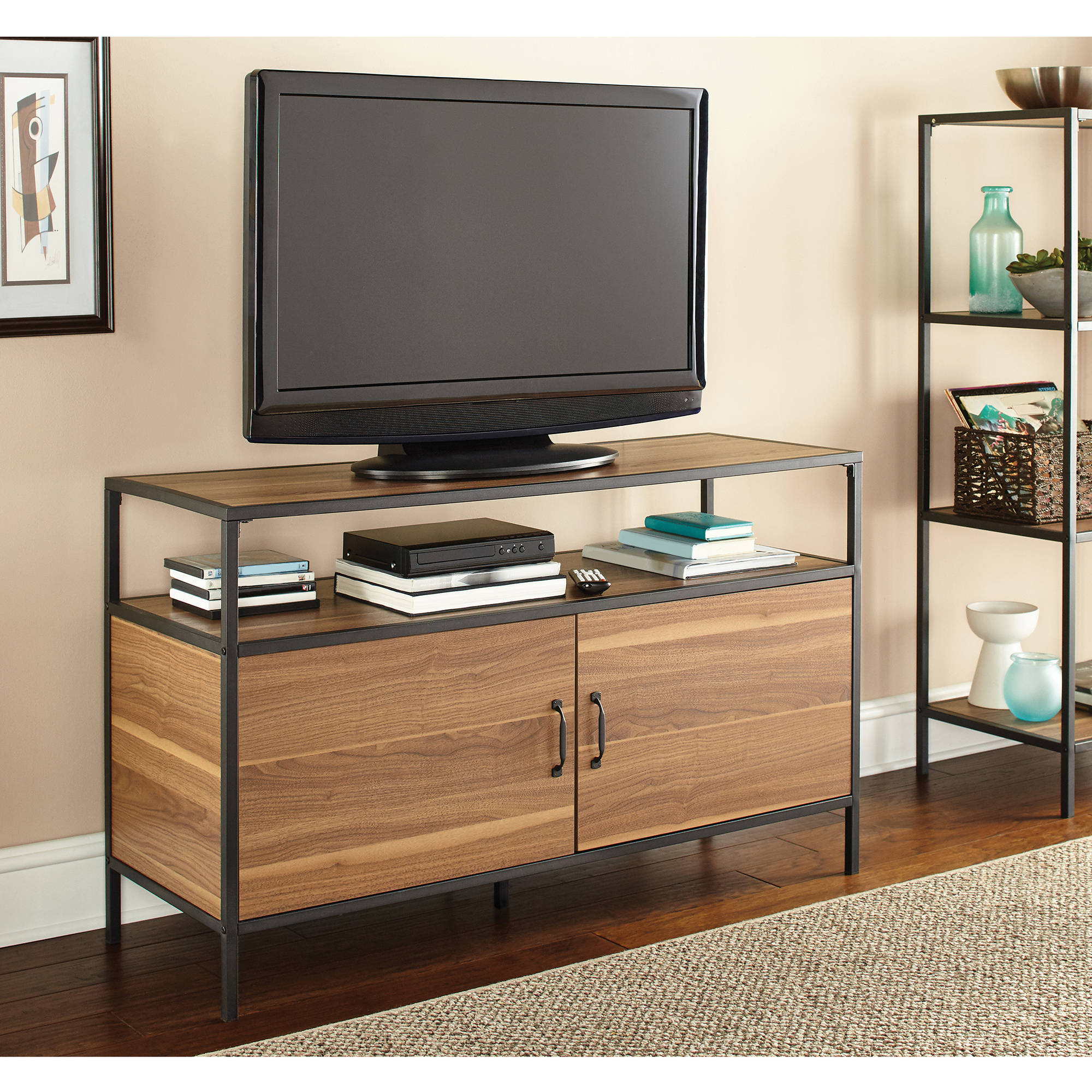 Mainstays Metro Tv Stand For Tvs Up To 50 Quot Multiple
