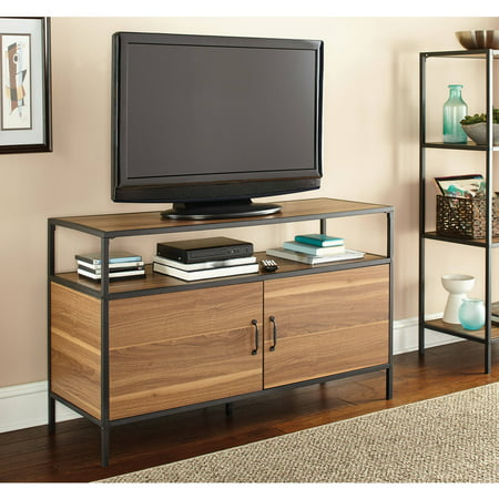 """Mainstays Metro TV Stand for TVs up to 50"""", Warm Ash Finish"""