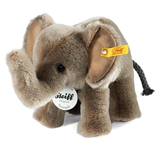 Steiff Trampili Elephant Plush, Grey - image 1 de 1