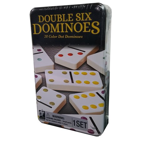 Double Six Dominoes in Tin Double Six Dominoes Rules