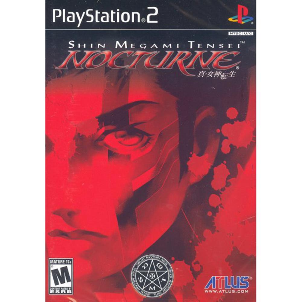 Atlus Shin Megami Tensei: Nocturne PS2