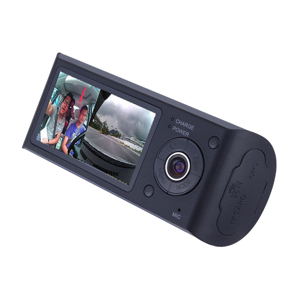 "HD Vehicle Car Camera Video DVR 3D G-Sensor 2.7"" LCD Screen X3000 Cam"