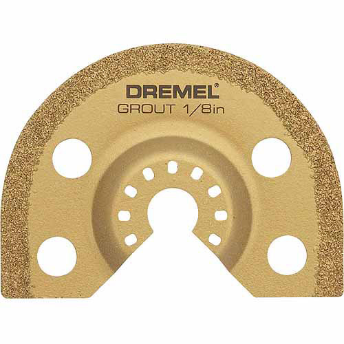 "Dremel MM500 Heavy Duty Universal 1/8"" Grout Removal Blade"