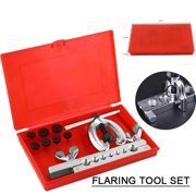 Yosoo Double Flaring Tube Flare Tool Kits Set Pipe Cutter Refrigeration Expander New