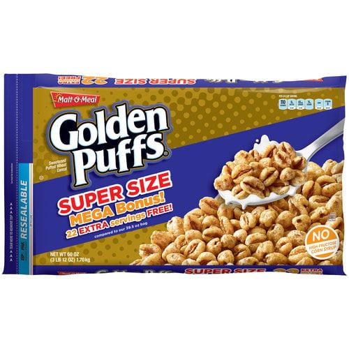 Malt-O-Meal Golden Puffs Cereal, 60 Oz