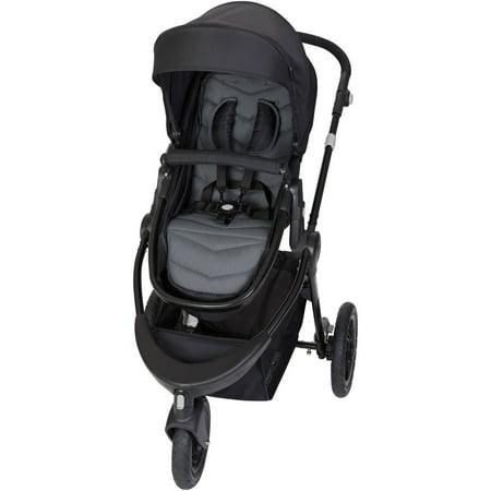 - Baby Trend Debut Sport 3-Wheel Stroller, Boulder