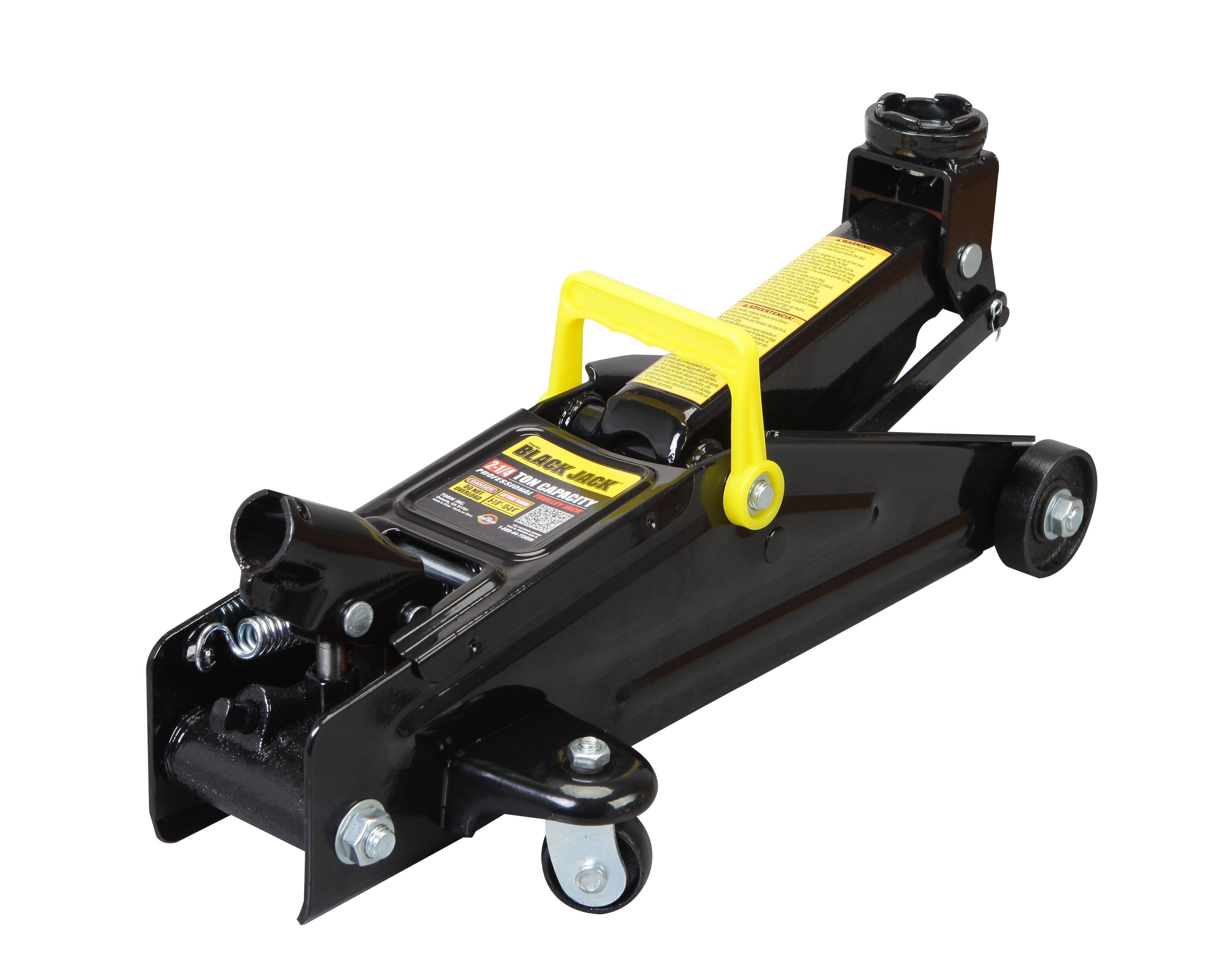 Professional Heavy Duty Metal Torin Trolley Floor Jack and 2 Jack Stands Bundle