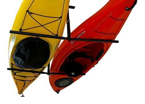 2 Kayak Adjustable Ceiling Storage Rack | Hi-Port 2 Mount | StoreYourBoard by StoreYourBoard