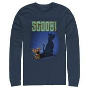 Scooby Doo Men's Scoob! Dog Shadow Long Sleeve T-Shirt
