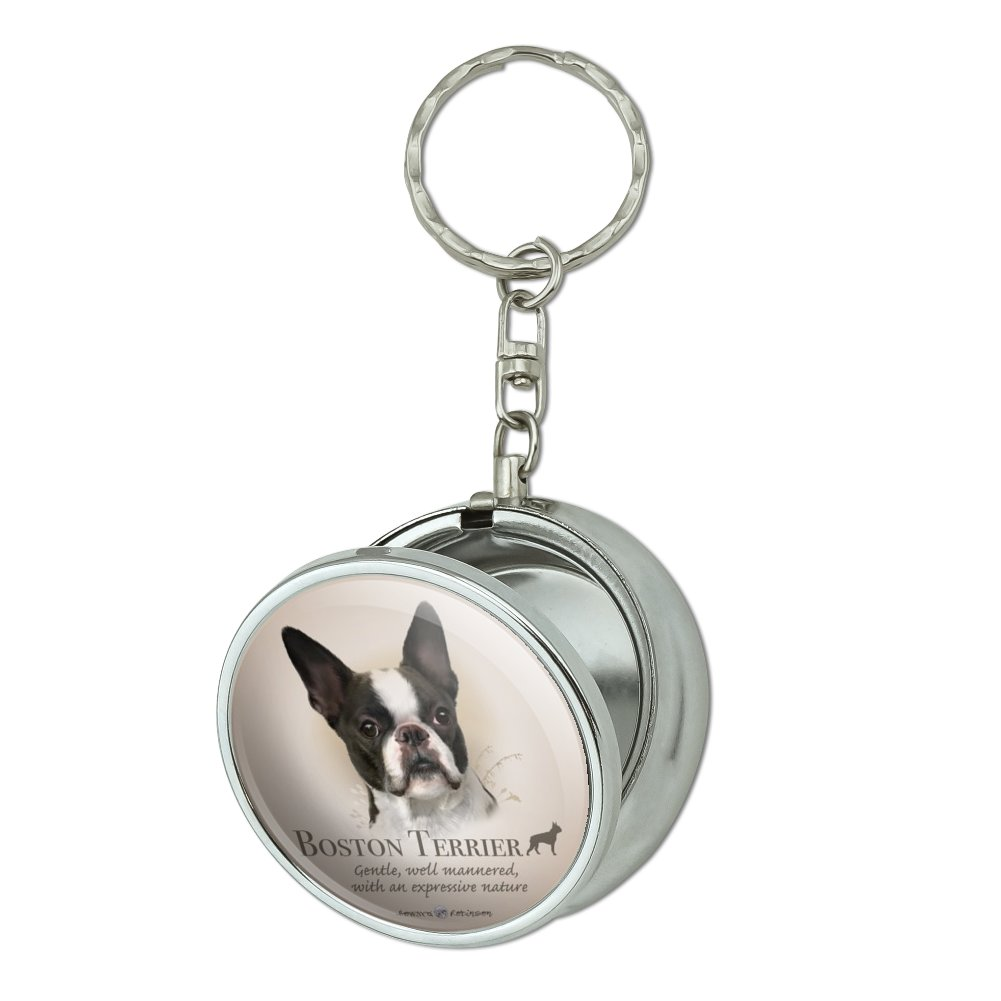 Canine Designs Set of 2 Boston Terrier Luggage Tags