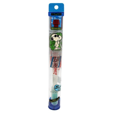Snoopy Joe Cool Green/Clear Colored Soft Bristle - Snoopy Joe Cool Halloween