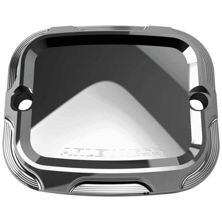 Arlen Ness 03-404 Front Brake Master Cylinder Cover - Beveled Chrome Chrome Master Cylinder Cover
