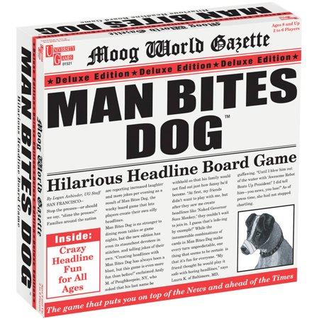 University Games Man Bites Dog Deluxe - Halloween Dog Games