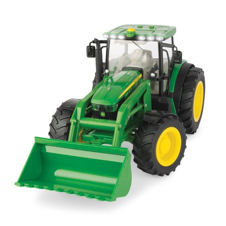 John Deere Big Farm Toy Tractor, 6210 Tractor, 1:16 Scale 1 16 Scale Farm Toys