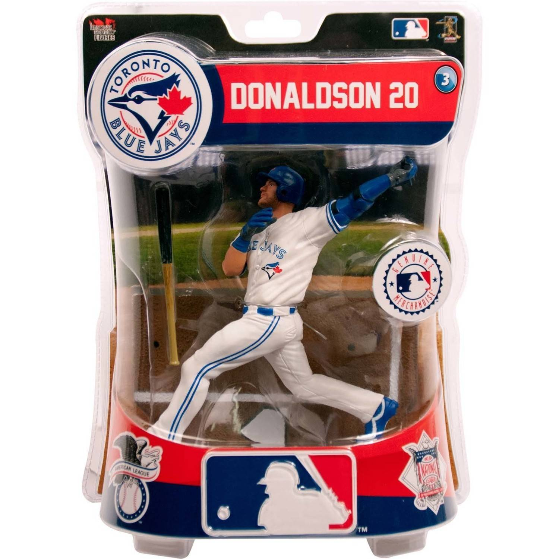 Import Dragon MLB Toronto Blue Jays Josh Donaldson Collectible Figure, 6\ by Imports Dragon