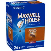 Maxwell House Medium Roast House Blend Coffee K Cups, 24 ct Box