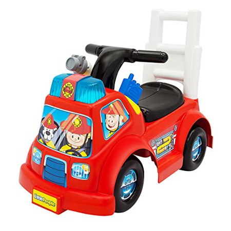 Fisher-Price Little People Fire Truck Ride