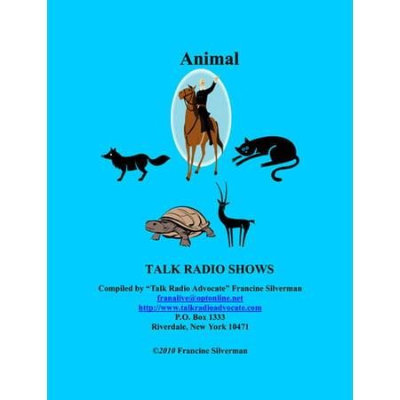 Directory of Animal Talk Radio Shows - eBook (Best Radio Talk Shows)