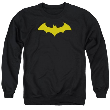 DC Comics Batman Hush Logo Mens Crew Neck Sweatshirt