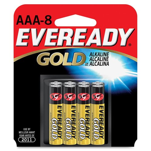 Energizer Eveready Gold Alkaline AAA Batteries