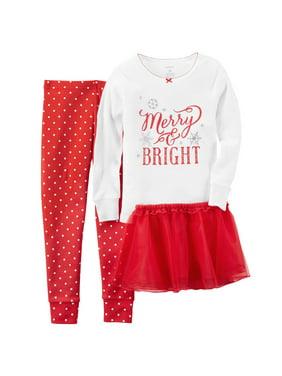 1ccb6d4ee Carter s Toddler Girls Pajama Sets - Walmart.com