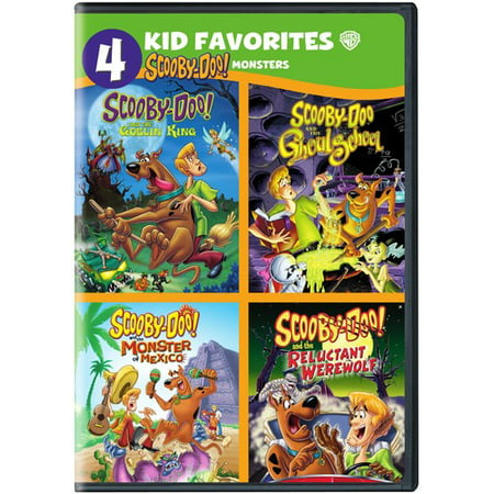 4 Kid Favorites: Scooby-Doo! Monsters (DVD)](Scooby Doo Halloween Full)