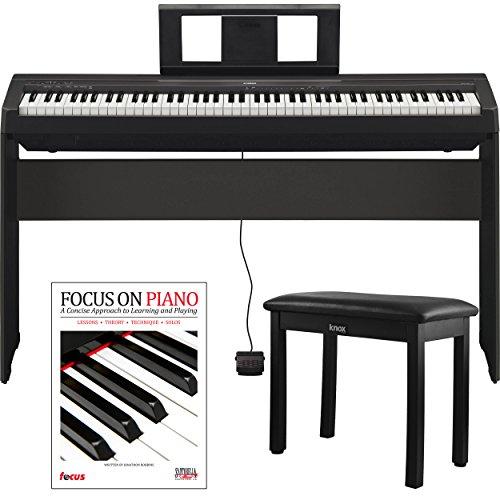 Yamaha P45 88 Weighted Keys Digital Piano w/ Yamaha L85 F...