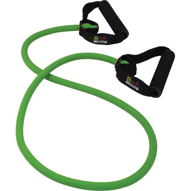 Body Sport ZZR146BXHVY Studio Series Resistance Tube, Green - X-Heavy