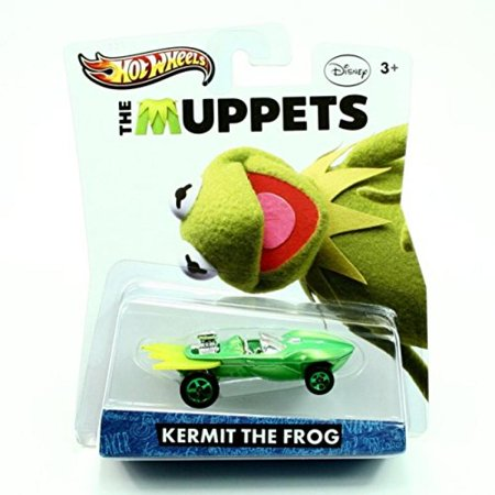 Hot Wheels Y0758 The Muppets Kermit the - Baby Kermit