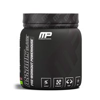 MusclePharm Assault Black Pre Workout Powder, Strawberry Lime, 30 Servings