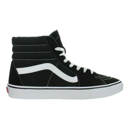 01579e7dad28 Vans - Mens Vans SK8-Hi Classic Suede Canvas Black White VN000D5IB8C ...