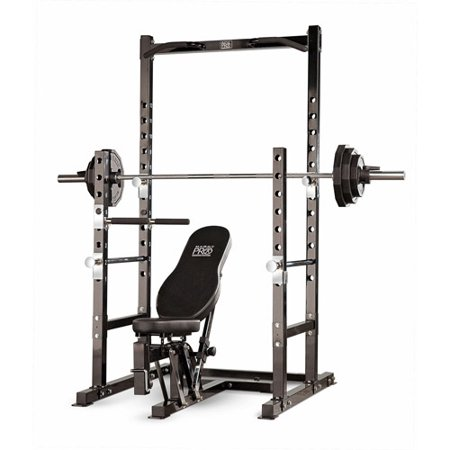 Marcy Power Rack And Bench Black Box 1 Of 2 Pm 3800