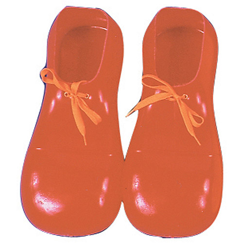 Adult Red Clown Shoes Adult Halloween Accessory