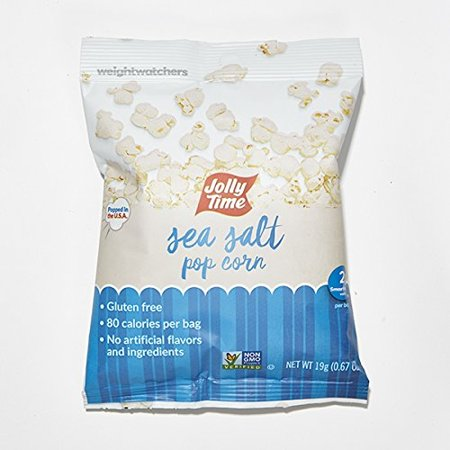 Weight Watchers Popcorn  Sea Salt