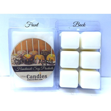 Caramel Apple - 3.4 Ounce Pack of Soy Wax Tarts - Scent Brick Wickless Candle Tart Warmer - Caramel Apple Ideas