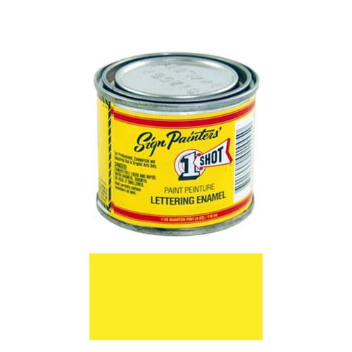 1/4 Pint 1 Shot PRIMROSE YELLOW Paint Lettering Enamel Pinstriping & Graphic Art