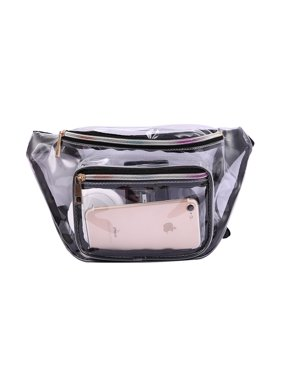 d5fa2a9406b0 Product Image HDE Clear Fanny Pack for Stadium Security Waist Bag Pouch  Transparent Vinyl Pouch Zipper Pockets