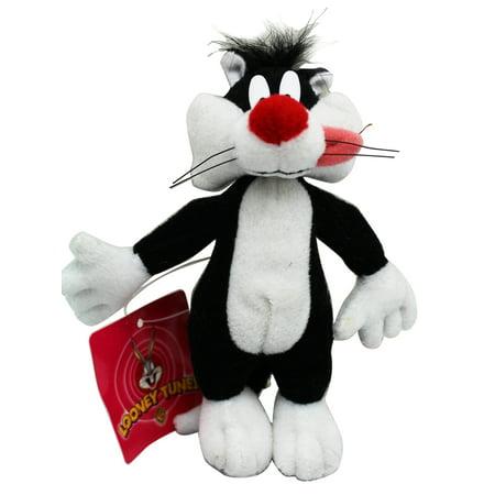 Sylvester the Cat Miniature Kids Plush Toy With Secret Pocket (5in) (Miniature Plush)